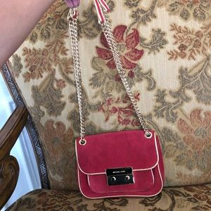 MICHAEL KORS Red Cross Body Purse ❤️